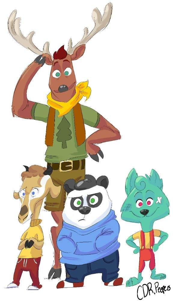 576x1024 Camp Campbell Animals (Furry Crossover Event) Cartoon Amino