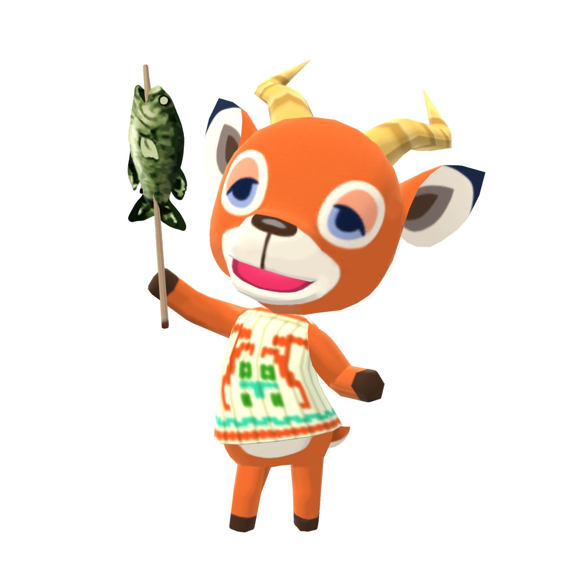 1920x1920 Animal Crossing Pocket Camp Art
