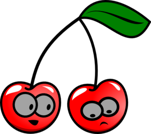 298x264 Animated Cherries Clip Art