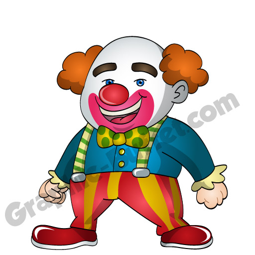 512x512 Animated Game Characters Clown Game Characters From Graphic Buffet