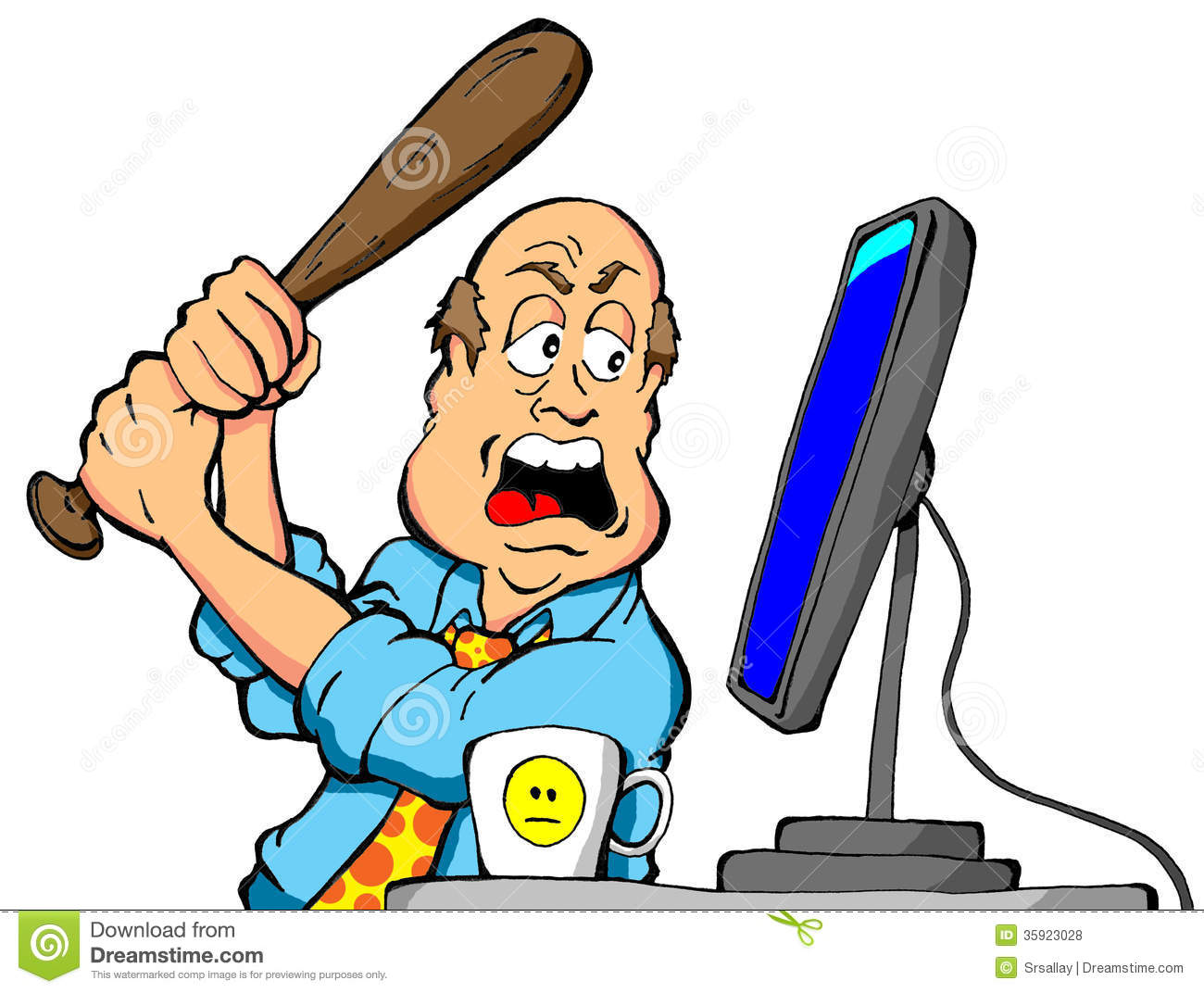 Animated Computer Clipart