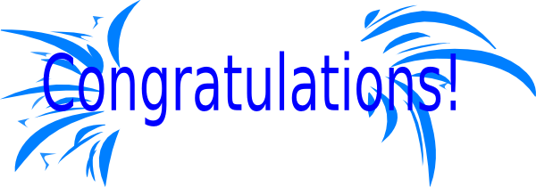 600x210 Congratulations clipart animated free free 3