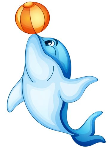 Animated Dolphin Clipart