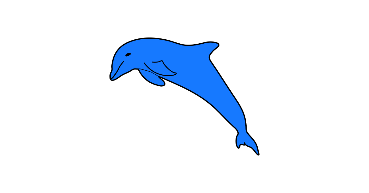 1200x628 Bottlenose Dolphin Clipart Animation