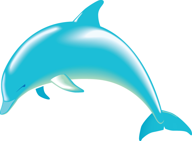 781x575 Clipart Dolphin Free