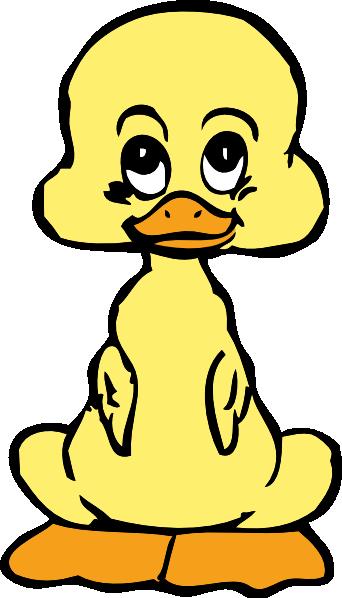 342x598 Baby Duck Clip Art
