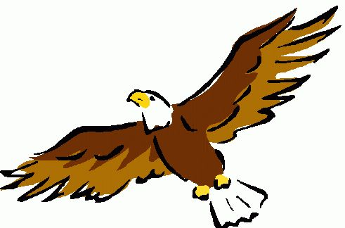 491x324 Printable Eagle Clipart Painting For Parents