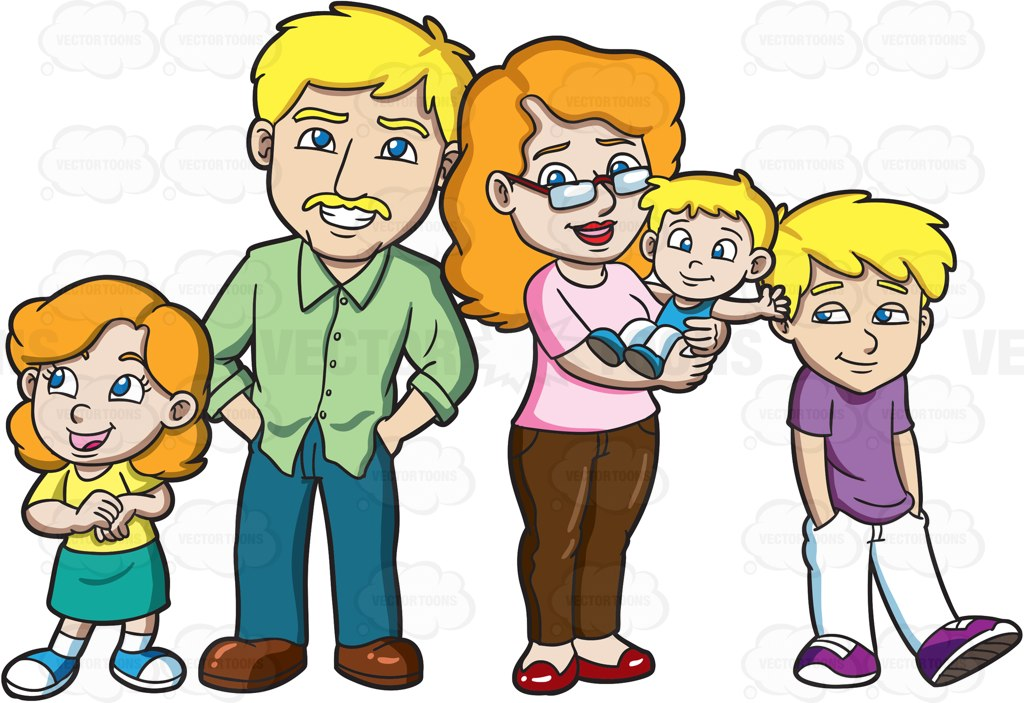 Family animated. Clipart free download best