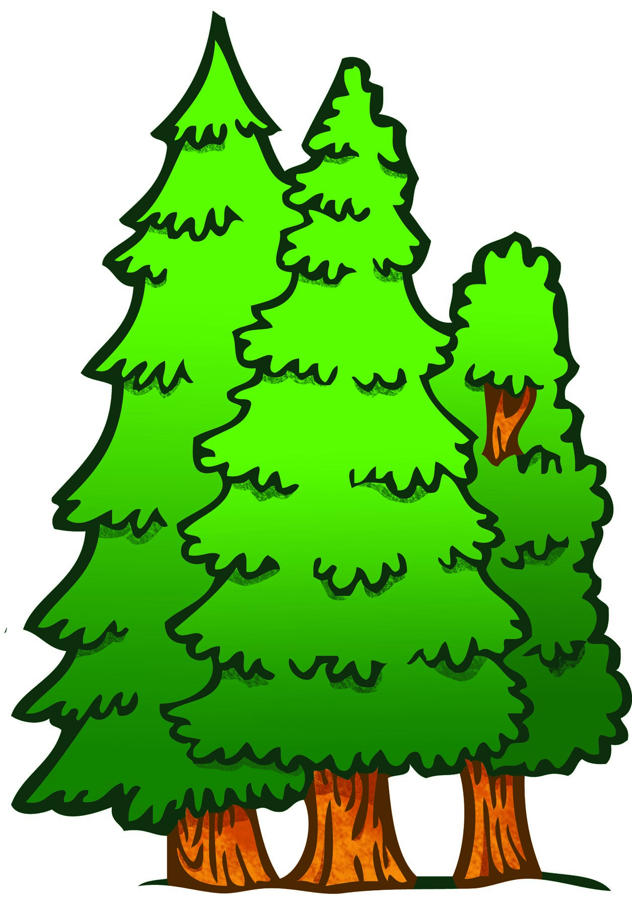 1255x1800 Forest Clipart