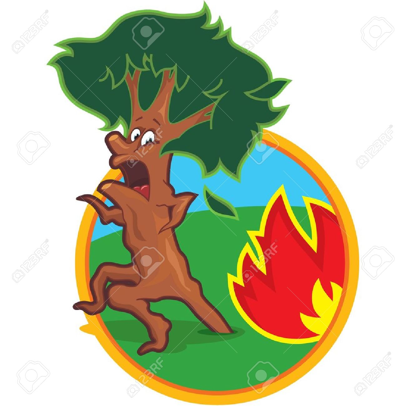 1300x1300 Fire Clipart Forest