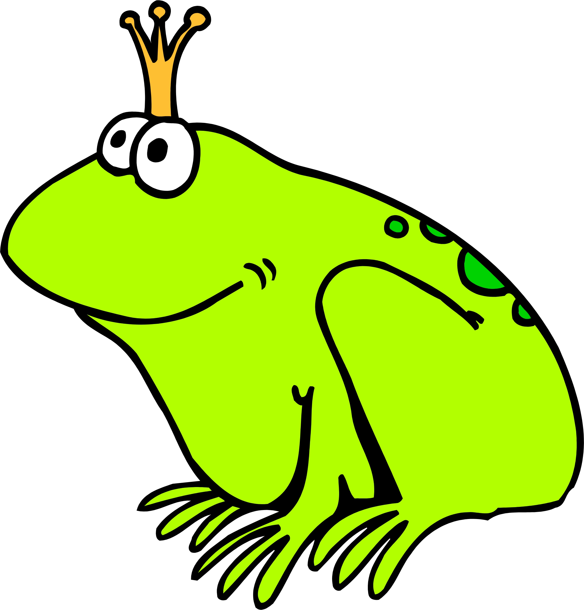 2010x2099 Cartoon Frogs Images