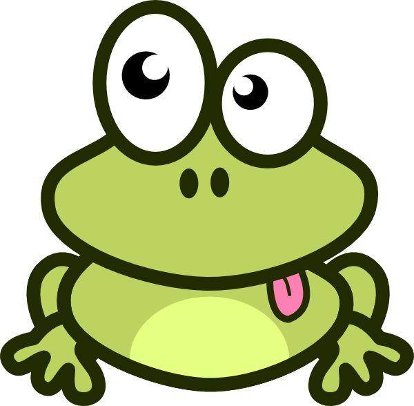 600x588 Cartoon Frogs Clipart