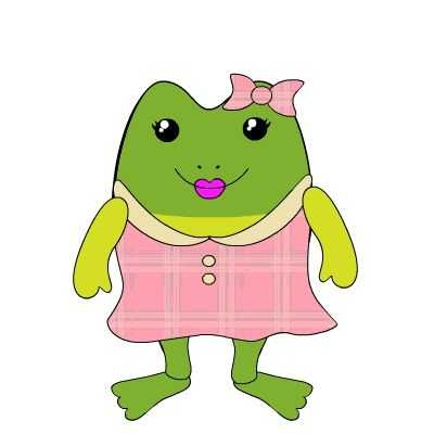 400x400 Frog Cartoon Images Girl 10 Free Adorable Animated Frogs