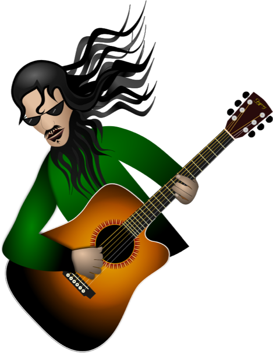 541x700 Guitar Clipart