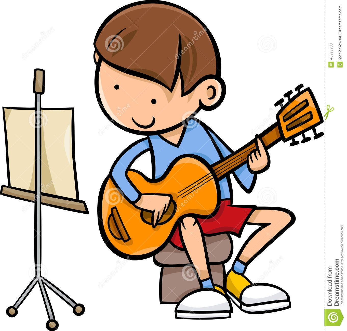 1362x1300 Guitar Clipart For Kid