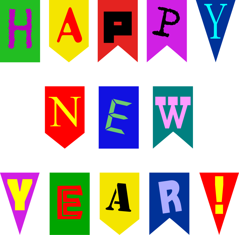 800x786 Animated New Year Clipart