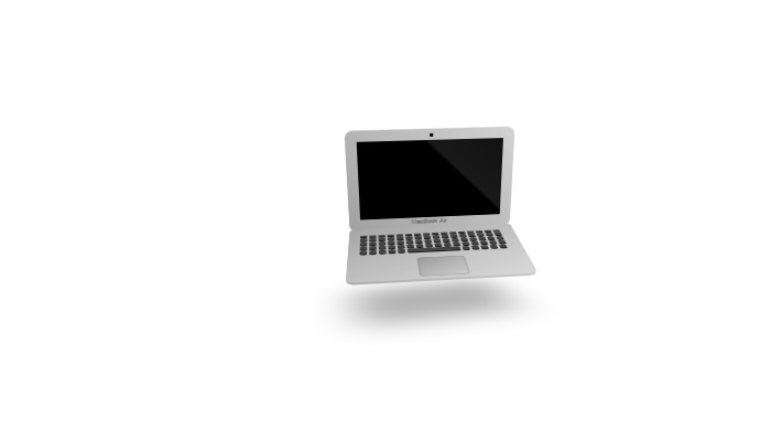 Animated Laptop