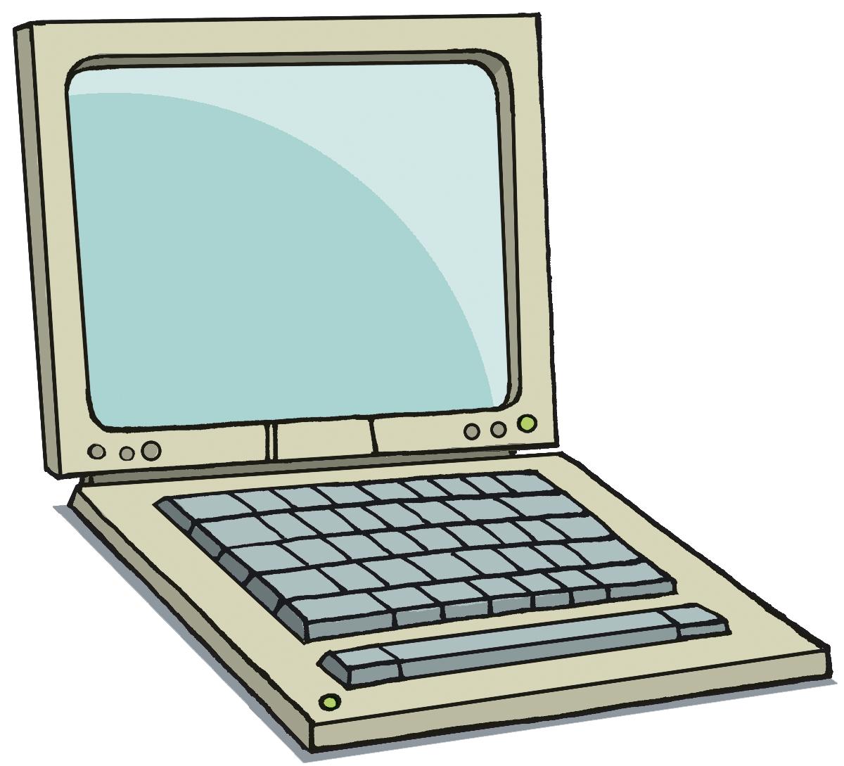 1200x1089 Laptop Clipart