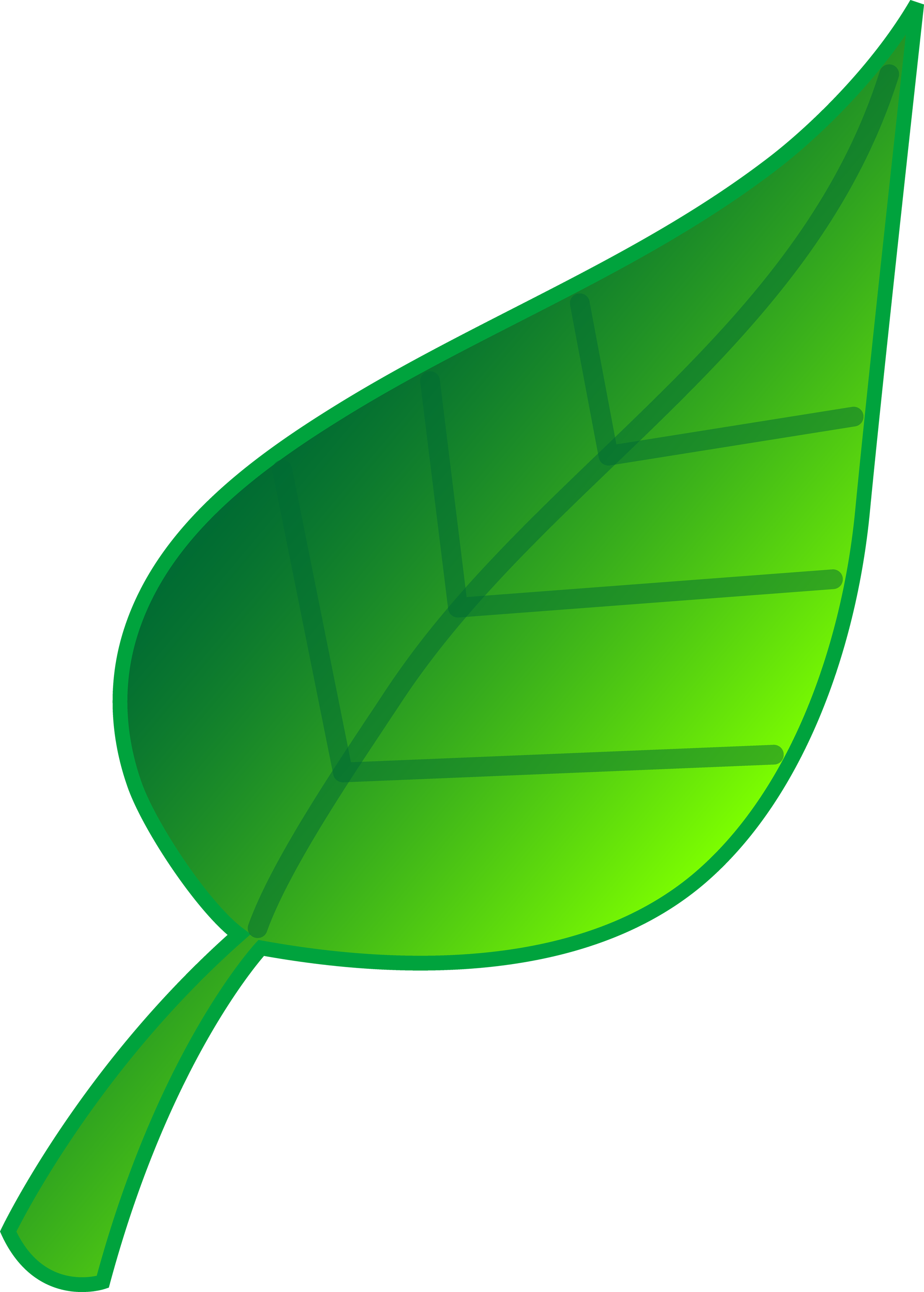 2504x3500 Leaf Animated Leaves Clipart Image