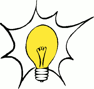 384x360 Cartoon Pictures Of Light Bulbs
