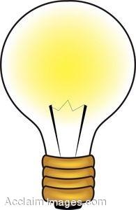 195x300 Lamp Clipart Light Bulb
