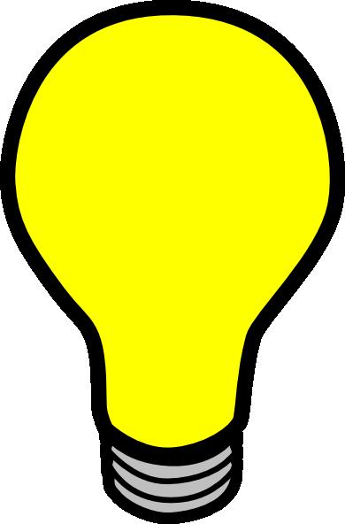390x592 Lightbulb Animated Light Bulb Clipart Kid
