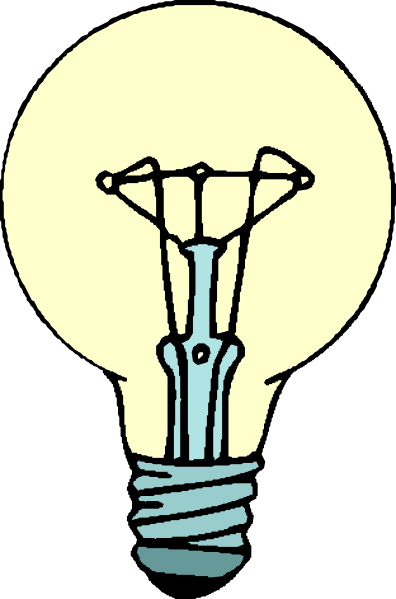396x599 Lightbulb Animated Light Bulb Clipart Kid 3