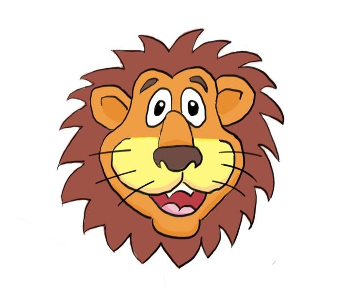 736x614 Cartoon Lion Lion Cartoons Cartoon Lion