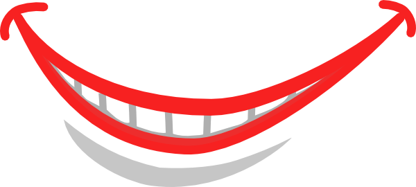 600x270 Smile Mouth Teeth Clip Art