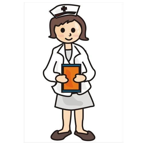 500x500 Images Of A Nurse Clipart Image 6