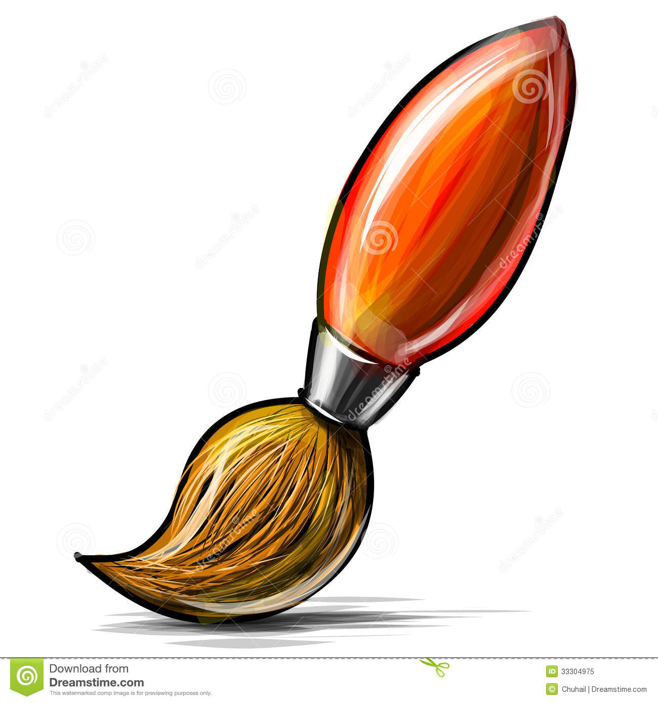 1300x1390 Clip Art Paint Brush Clip Art