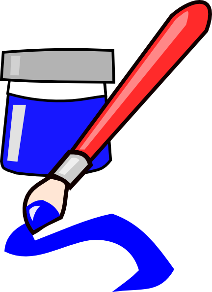 432x593 Paint Brush Clip Art