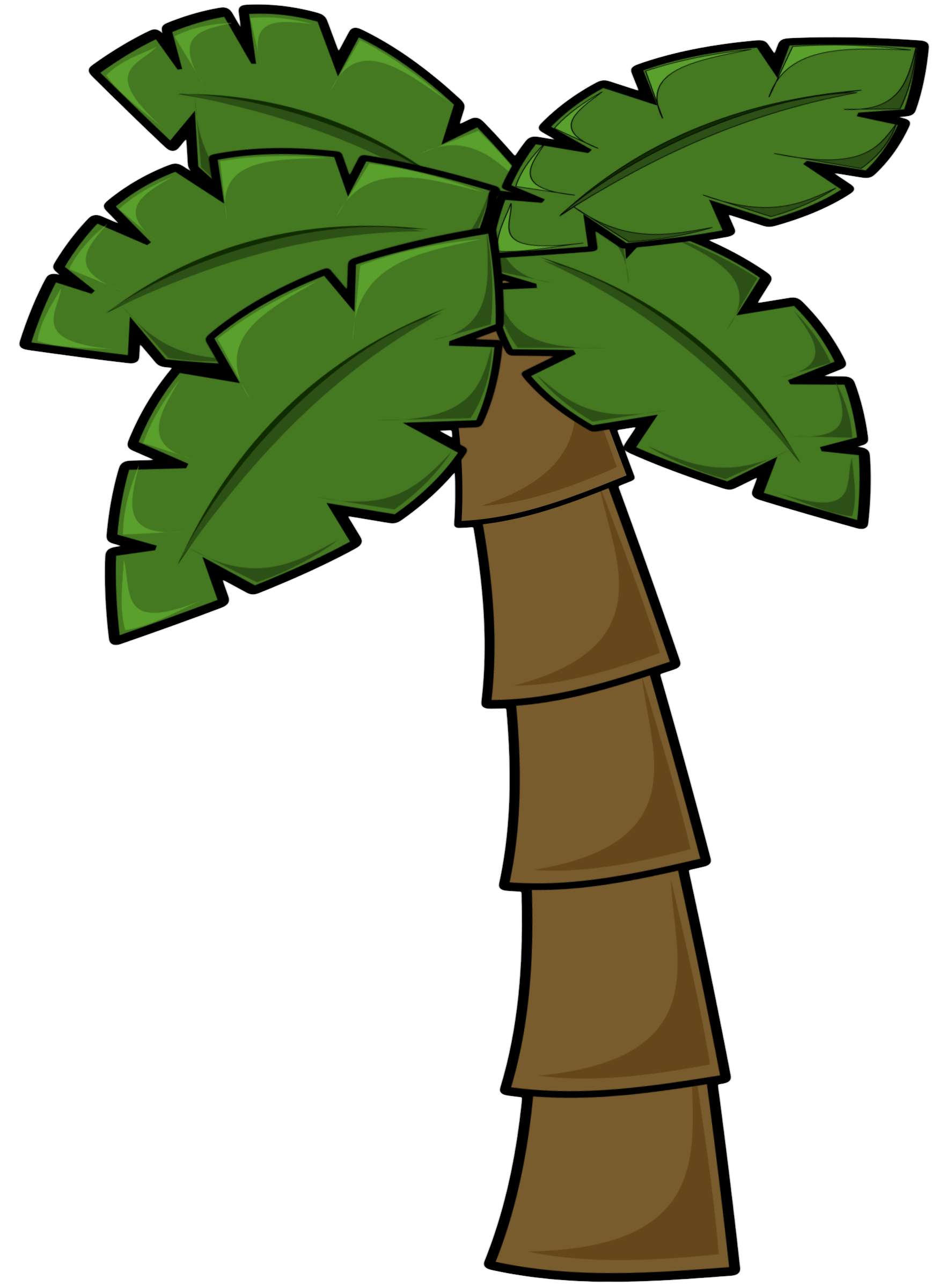 1763x2400 Palm Tree Clipart Cute