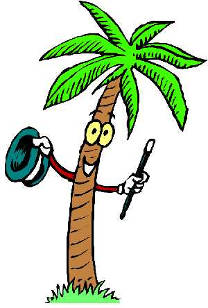 300x444 Palm Tree Clipart Face