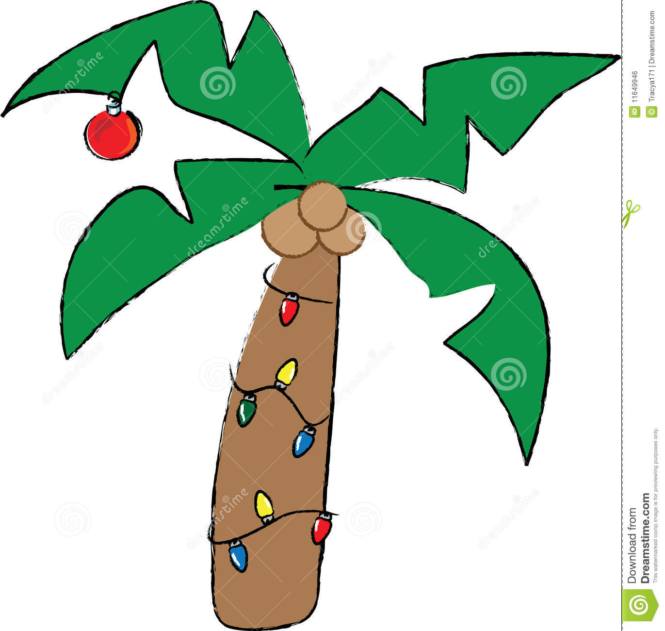 1371x1300 Christmas Palm Tree Clip Art