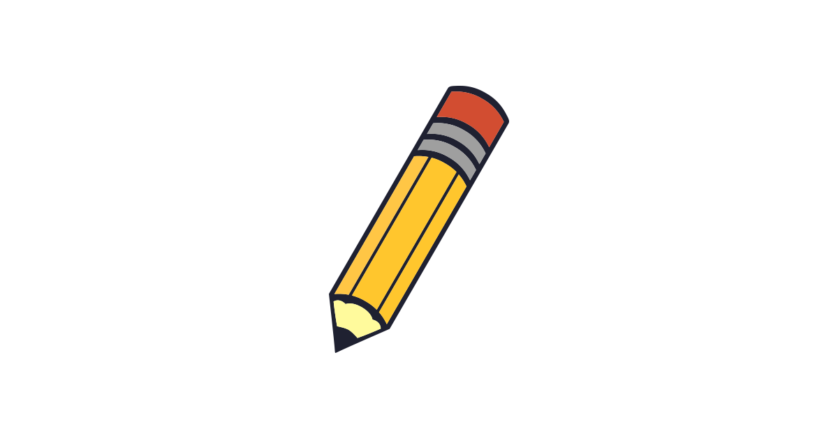 1200x628 Animated Pencil Clip Art Clipart Image 1 4