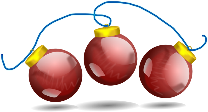 700x378 Christmas Ornaments Clipart Animated Pencil And In Color