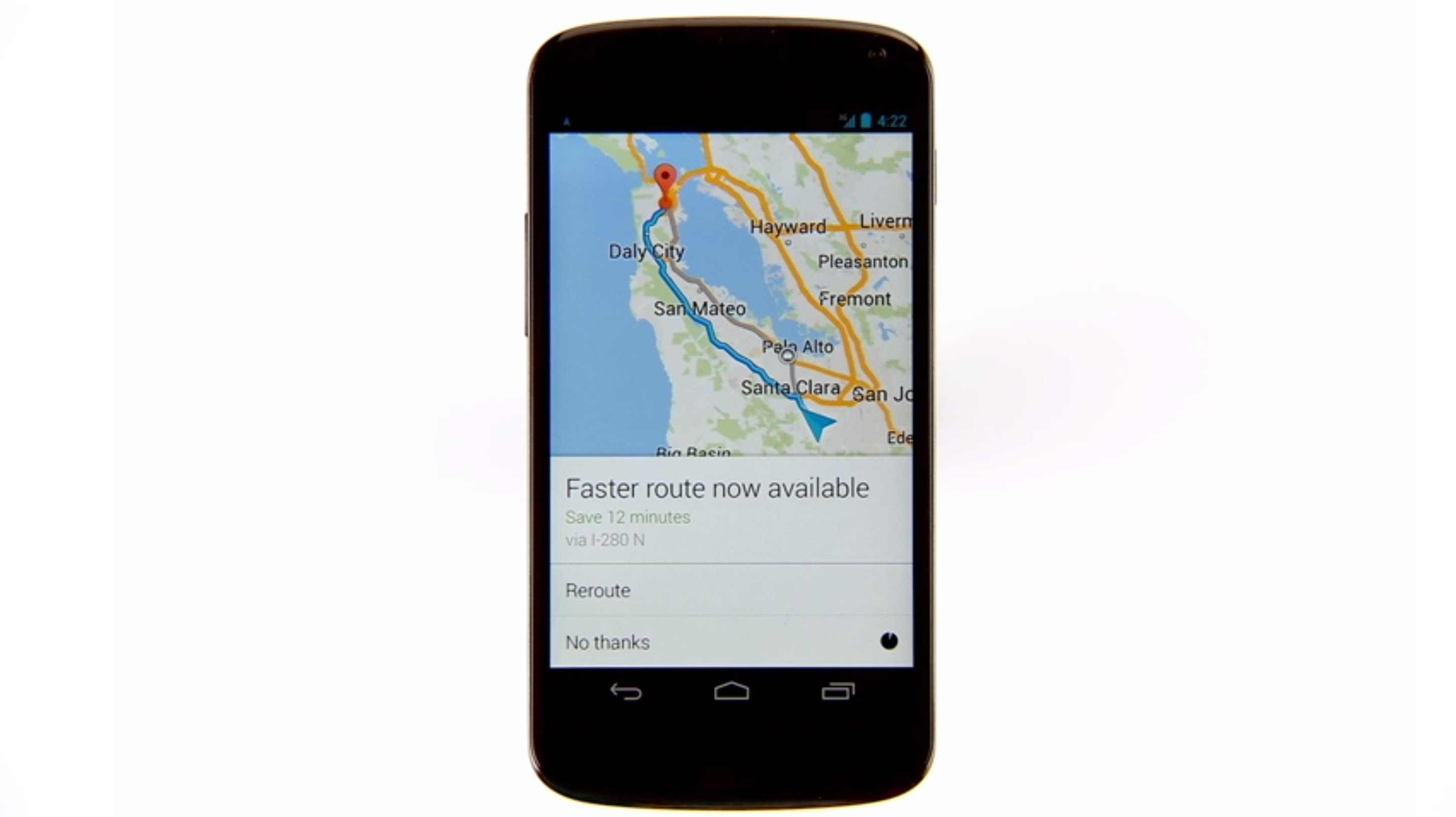 2872x1612 Directions and navigation with the new Google Maps app