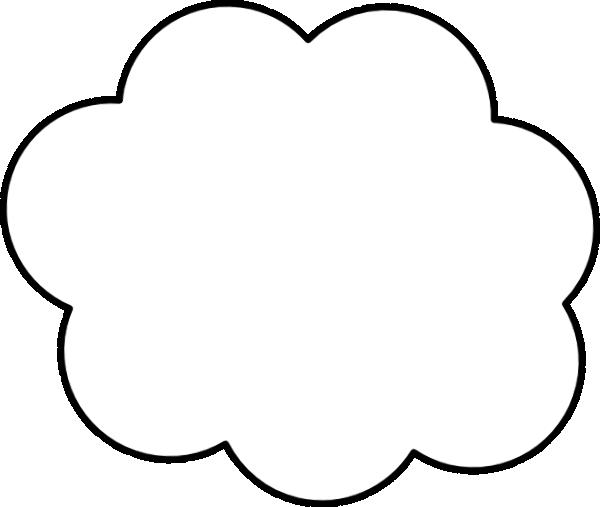 600x507 Cartoon Cloud Clip Art