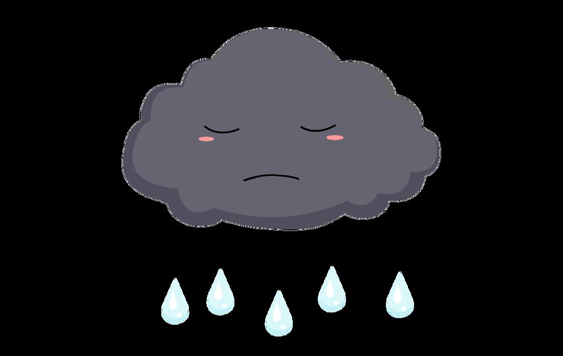 1100x695 Clouds Clipart Sad