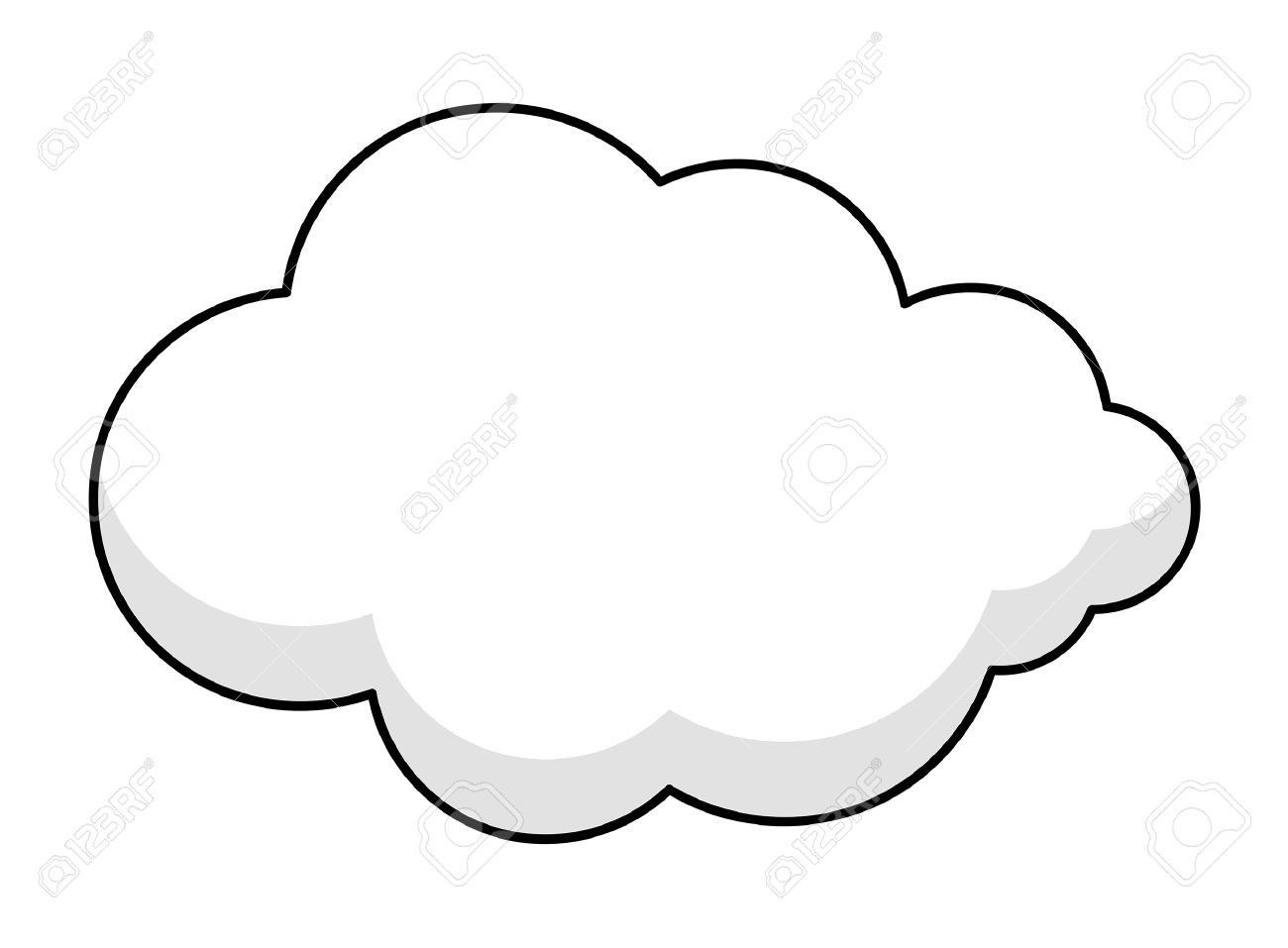 1300x957 Fluffy Clipart Animated Cloud