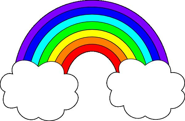 600x394 Animated Rainbow Clipart