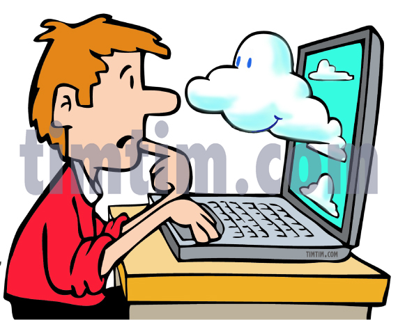 571x460 Free Drawing Of Cloud Computing From The Category Computers