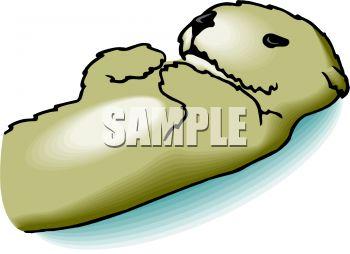 350x254 Sea Otter Clipart River Otter