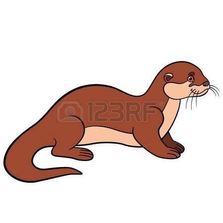 450x450 Weasel Clipart River Otter