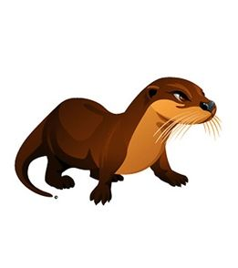 261x294 242 Best Otters Images Adorable Animals, Embroidery
