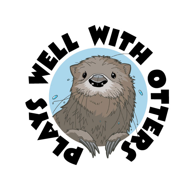 667x667 Perhapablog And Other Ramblings Plays Well With Otters Otter