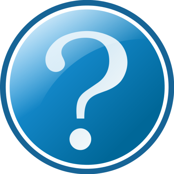 600x600 Animated Question Mark Clipart 7
