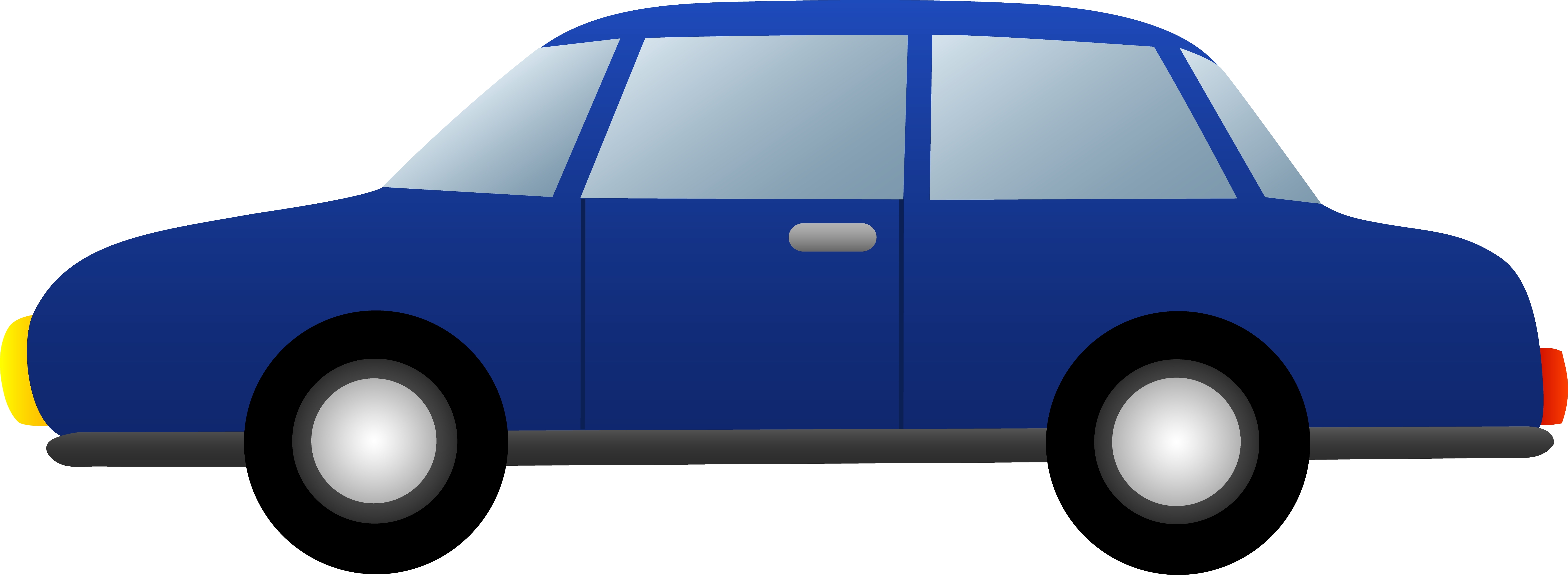 7122x2615 Cartoon Car Clipart