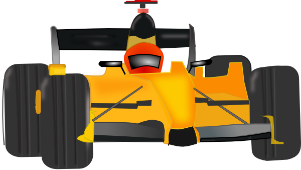 600x338 Race Car Clip Art